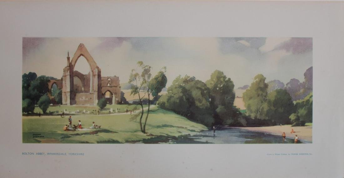 Frank Sherwin (1896-1986) Bolton Abbey and The River