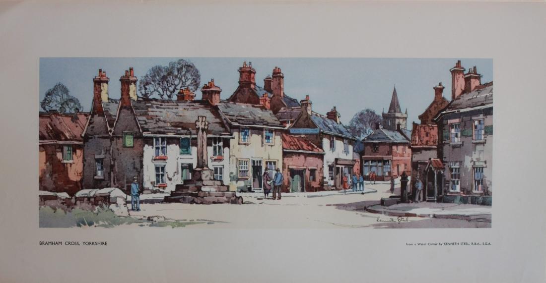Kenneth Steel (1906-1970) Braham Cross Yorkshire,  LNER