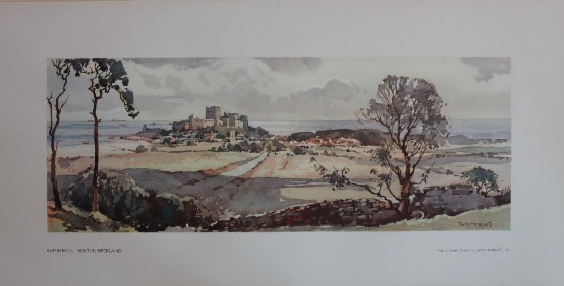 Jack Merriott (1901-1968) Bamburgh and Roman Camp