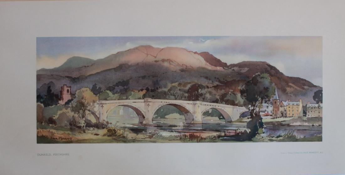 Jack Merriott (1901-1968) Dunkeld Perthshire, Stirling