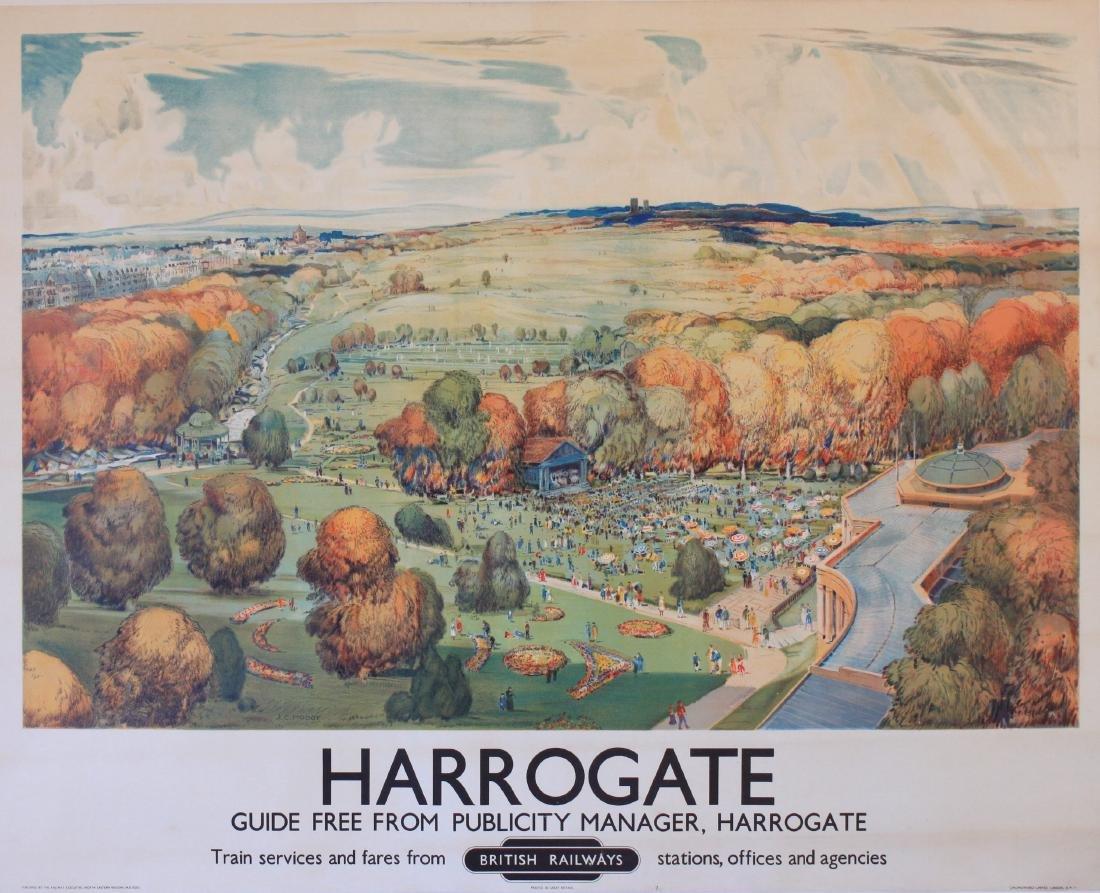 J C Moody (1884-1962) Harrogate (The Pavilion and Show