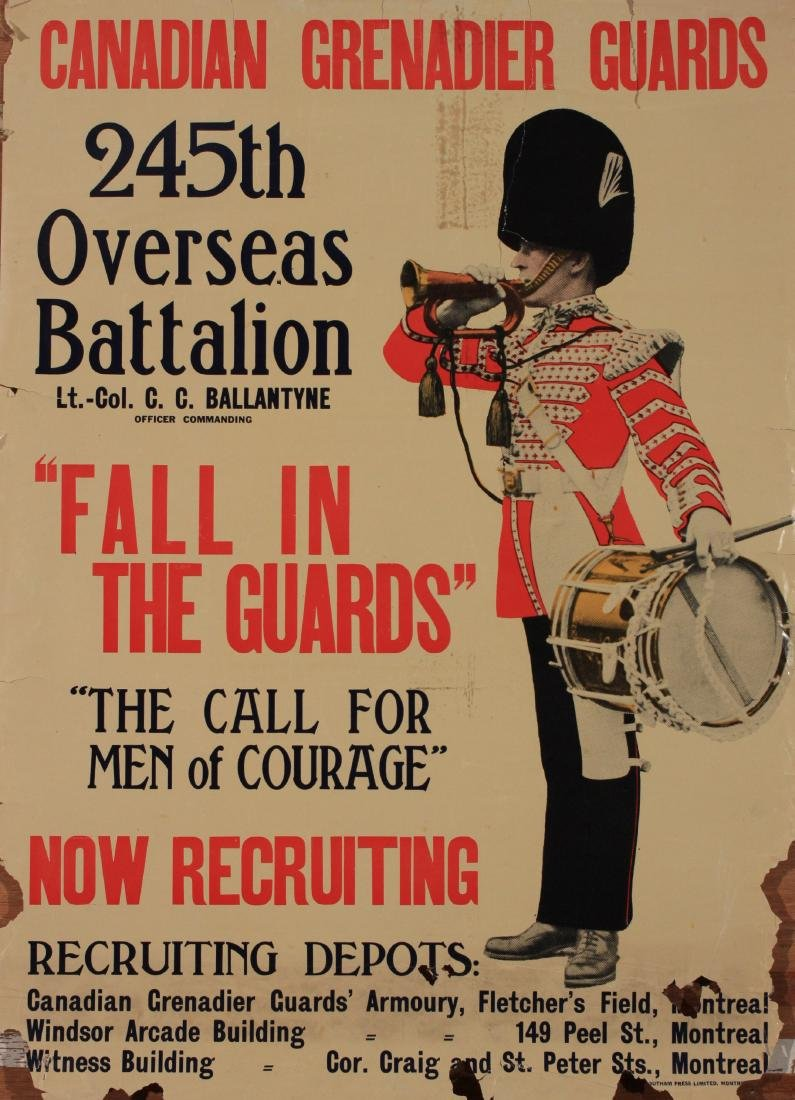Canadian Grenadier Guards, 245th Overseas Battalion,