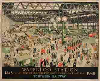 Helen McKie (1889-1957) Waterloo Station 1848 1948,