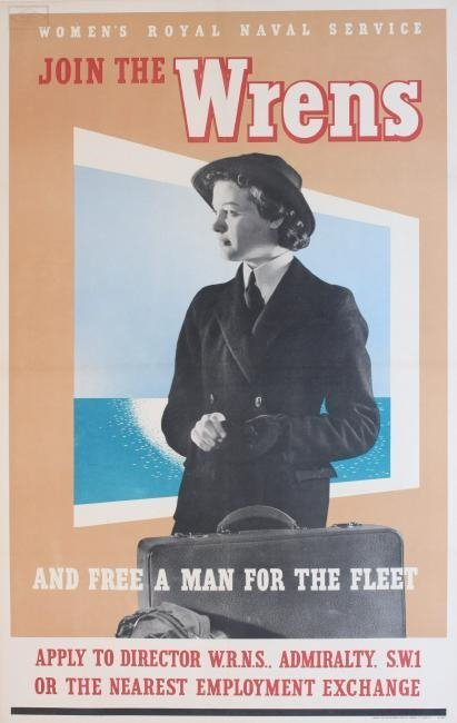 Women~s Royal Naval Reserve, Join the Wrens and free a