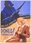 Carles Fontsere (1916-2007)  Donnes! Treballeu (Women!