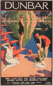 Alfred Lambart (1901-1970) Dunbar, original lithograph