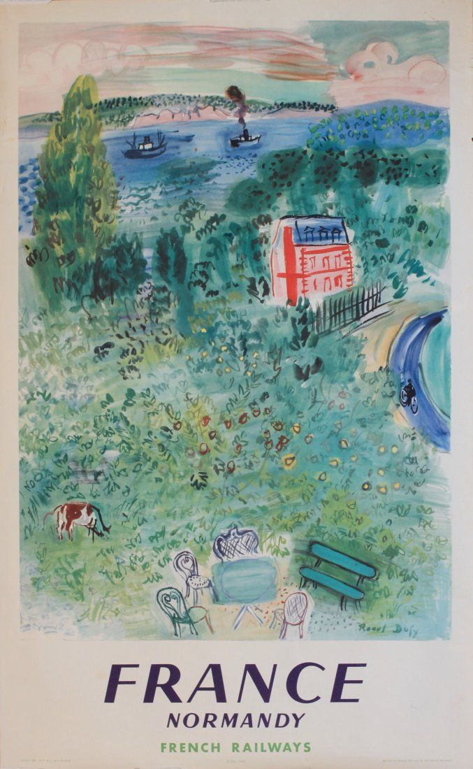 Raoul Dufy (1877-1953) France Normandy