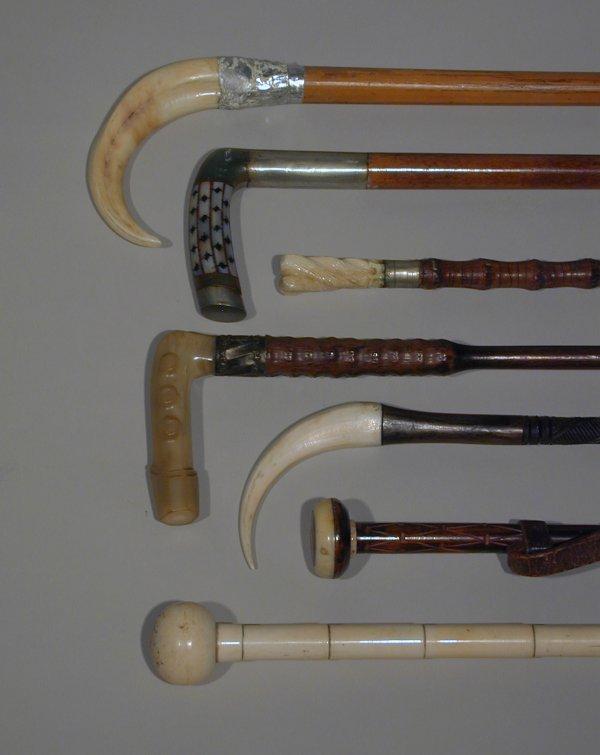 502: Antique canes and sticks