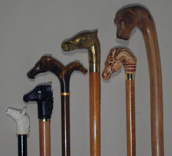 524: Horses head sticks
