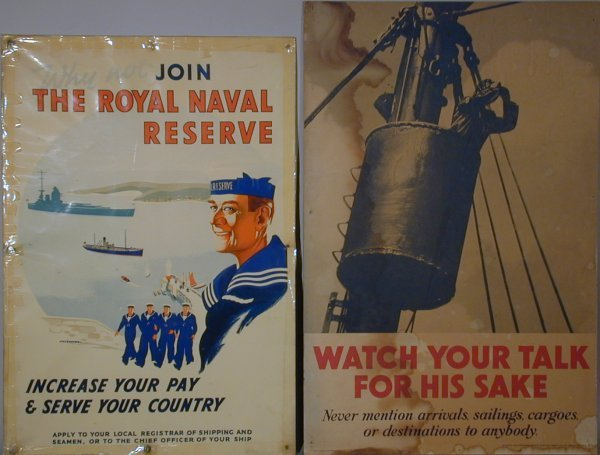 19: V L Danvers Why not join the Royal Naval Reserve, l