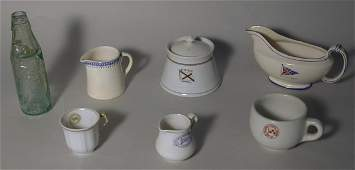 427: Crockery and other ships wares, including Canadian