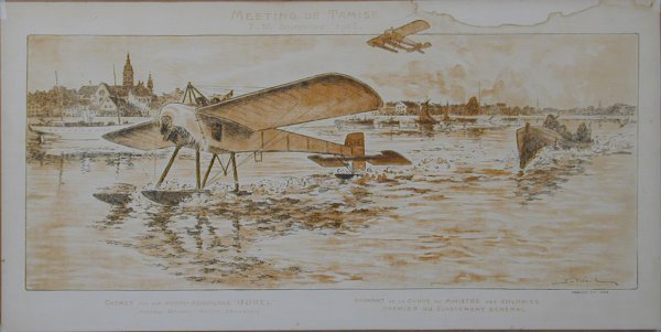 1: Vintage Montaut/Gamy lithograph