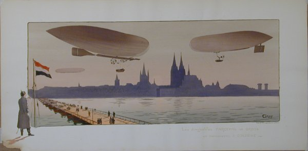 3: Vintage Montaut/Gamy lithograph