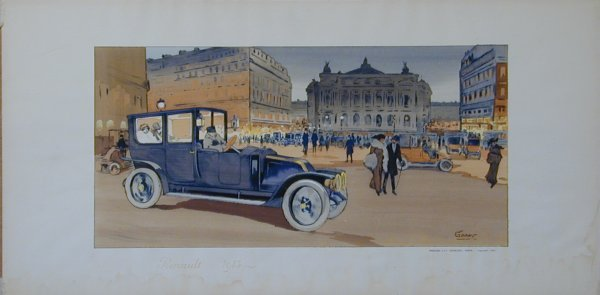 5: Vintage Montaut/Gamy lithograph
