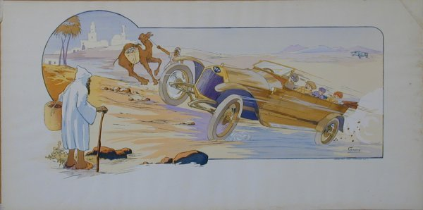 6: Vintage Montaut/Gamy lithograph