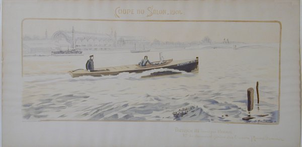 8: Vintage Montaut/Gamy lithograph