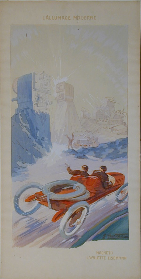 11: Vintage Montaut/Gamy lithograph