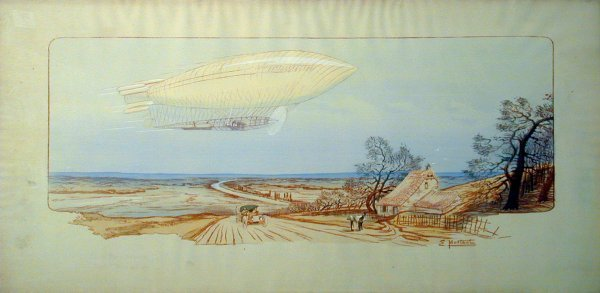 12: Vintage Montaut/Gamy lithograph
