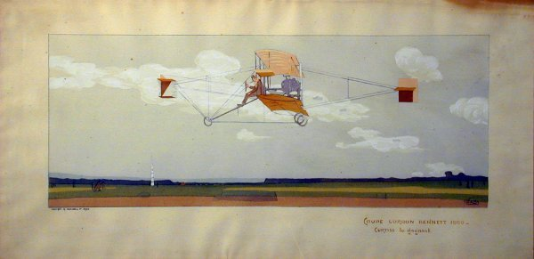 13: Vintage Montaut/Gamy lithograph