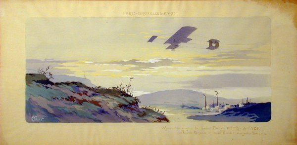 14: Vintage Montaut/Gamy lithograph