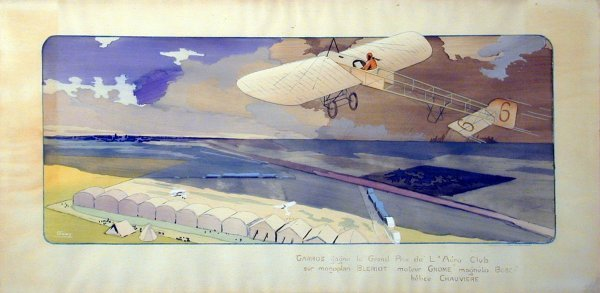 17A: Vintage Montaut/Gamy lithograph