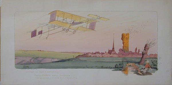 18A: Vintage Montaut/Gamy lithograph
