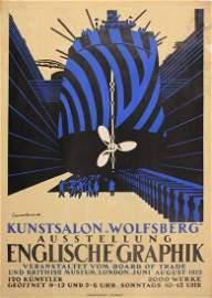 Edward Wadsworth (1889-1949) Englische Graphik ,
