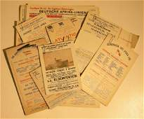627: A collection of sailing cards, Netherlands South A