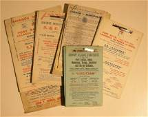 631: A collection of sailing cards, General Steam navig