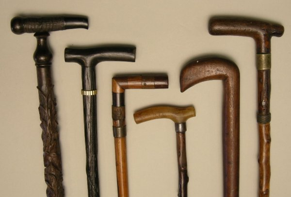 701: Antique Walking Sticks and Canes