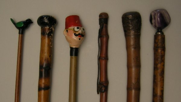705: Antique Walking Sticks and Canes