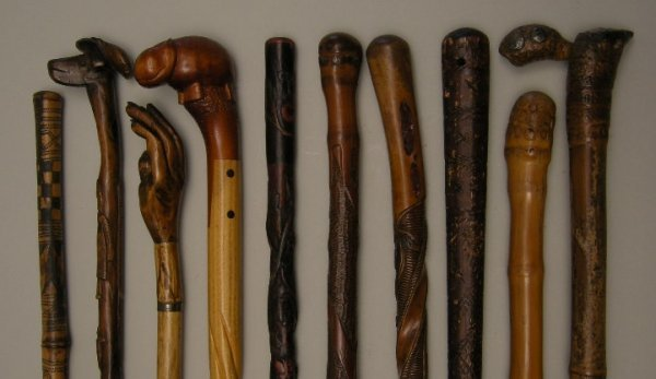 707: Antique Walking Sticks and Canes