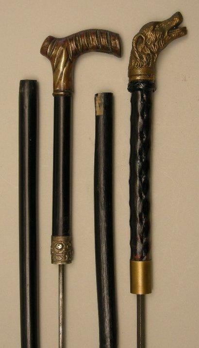 708: Antique sword stick