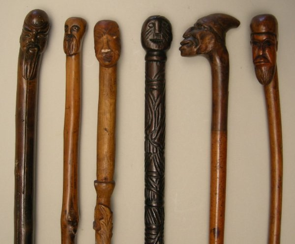 712: Antique Walking Sticks and Canes