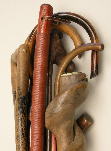 713: Antique Walking Sticks and Canes