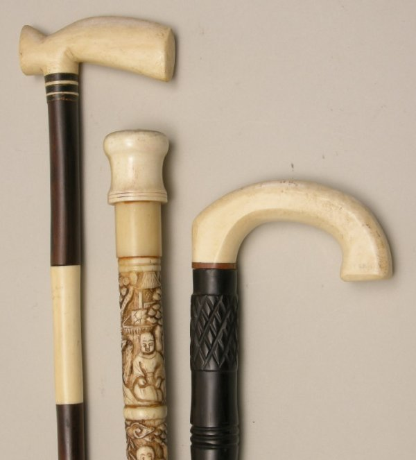 716: Antique Walking Sticks and Canes