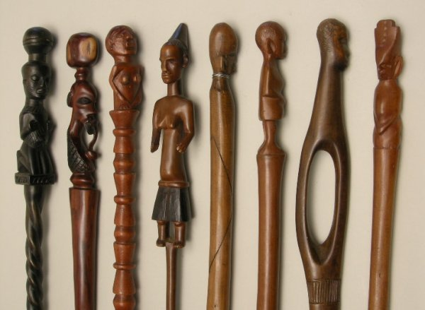 718: Antique Walking Sticks and Canes