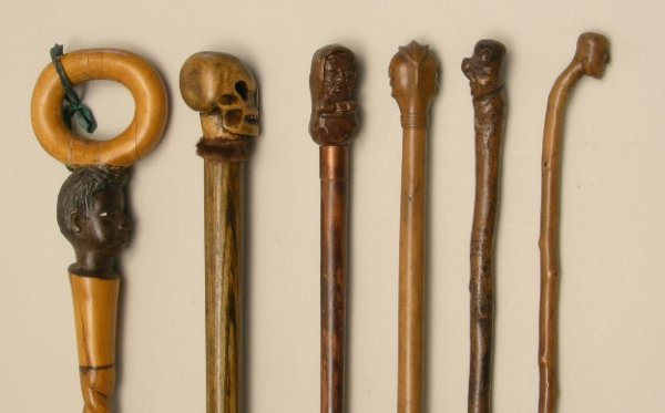 719: Antique Walking Sticks and Canes
