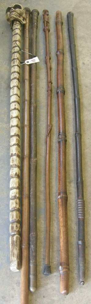 797: Antique Walking Sticks and Canes
