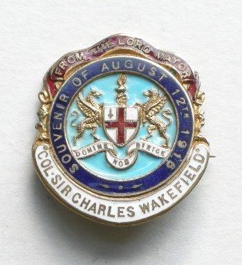 1017: Original medals and badges