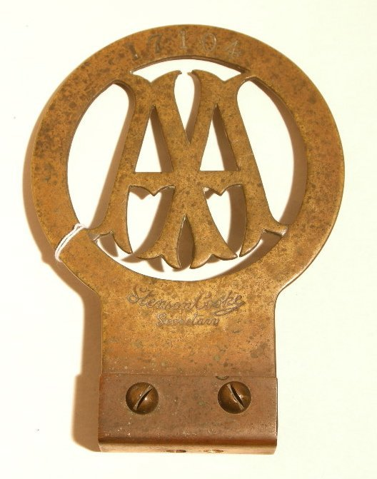 1020A: Original Car badge
