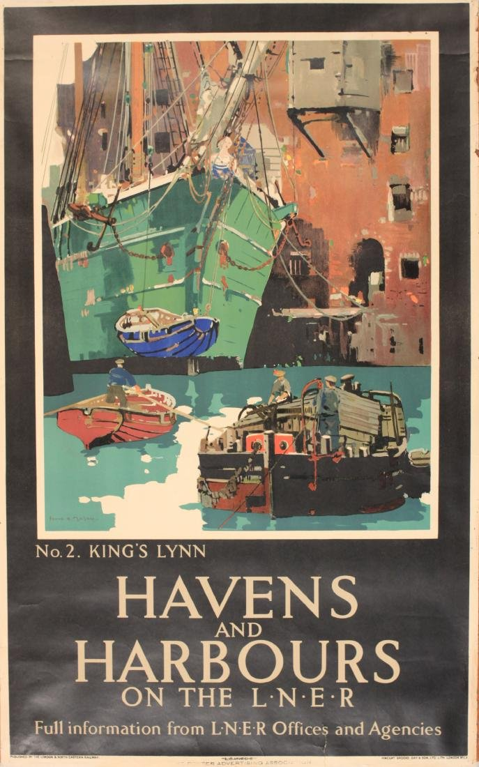 Frank H Mason (1876-1965) Havens and Harbours No 2