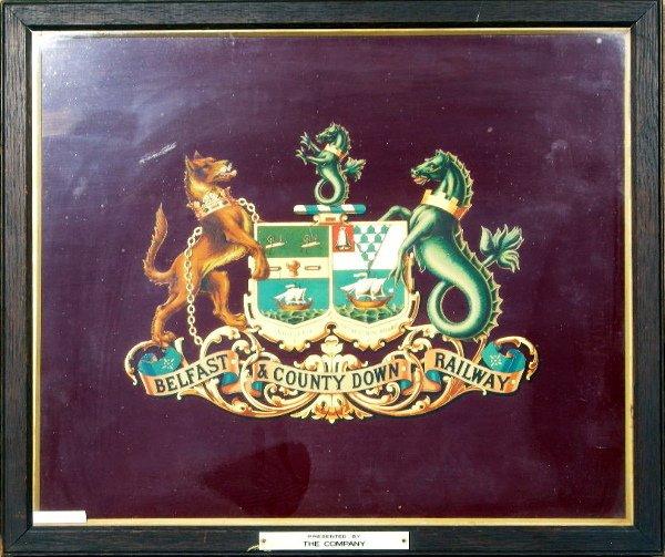 1: Belfast & County Down Railway, an original coat of a