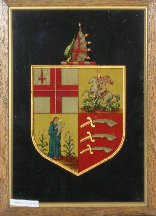 2: Eastern Counties Railway, an original coat of arms,