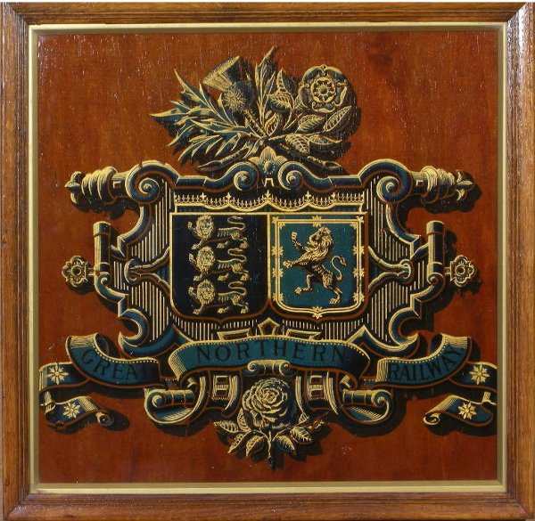 3: Great Northern Railway, an original coat of arms, va