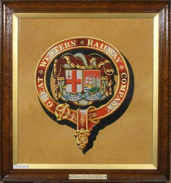 4: Great Western Railway, an original coat of arms cres