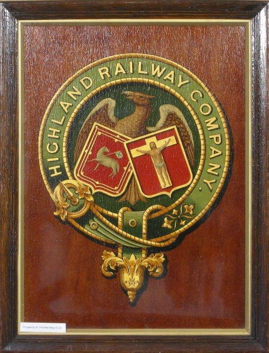 5: Highland Railway Company, an original coat of arms c