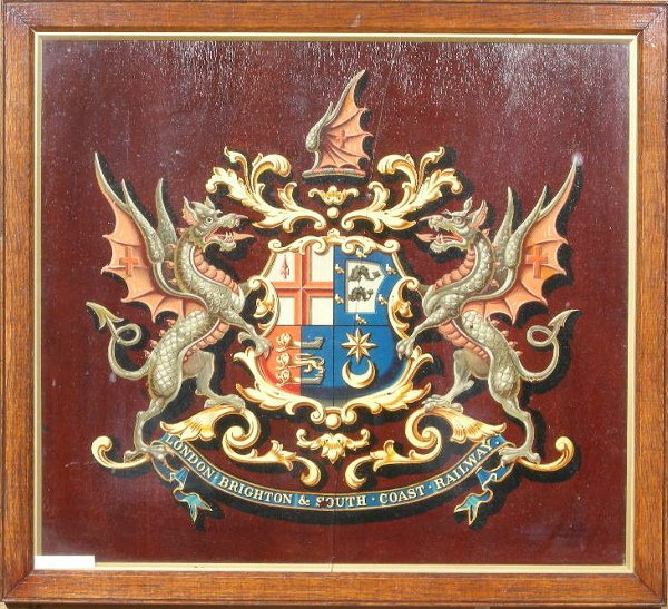 6: London Brighton & South Coast Railway, an original c