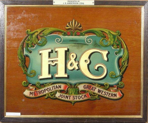 8: Metropolitan Great Western Joint Stock H&C, an origi