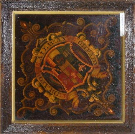 9: Midland Railway, an original coat of arms crest, han